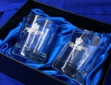 Submariners - Twin  Whisky Glass Set